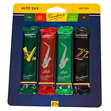 Vandoren Alto Saxophone Jazz Reed Sample Pack