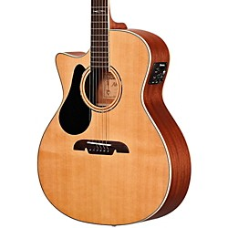 Alvarez AG60LCE Grand Auditorium Left Handed Acoustic-Electric Guitar (AG60LCE)