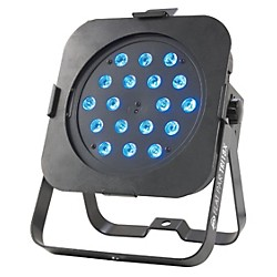 American DJ Flat Par TRI18X Low Profile LED Par Can Light (Flat Par TRI18X)