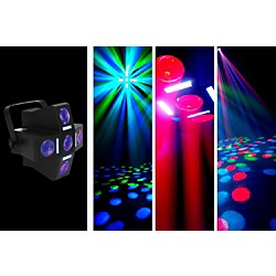 American DJ Fun Factor LED Moonflower/Strobe Lighting Effect (Fun Factor)