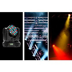 American DJ Inno Color Beam LED Moving-Head Lighting Effect (Inno Color Beam LED)