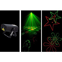 American DJ MICRO GOBO Laser with Red & Green Gobo (MICRO GOBO)
