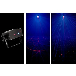 American DJ Micro Royal Galaxian Sound-Active Laser Shower Effect (MICRO ROYAL GALAXIAN)