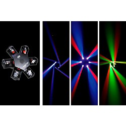 American DJ Nucleus LED - 6-Head Scanning Centerpiece Effect (NUCLEUS LED)