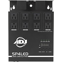 American DJ SP4LED DMX Switch Pack (SP4LED)