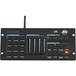 American DJ WiFly RGBW8C Wireless 4 Channel Color Mixing Controller (WIF082)