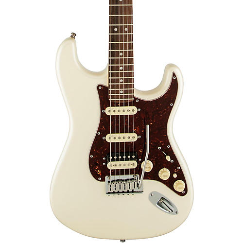 Fender American Deluxe Stratocaster HSS Shawbucker Rosewood Fingerboard Electric Guitar-thumbnail