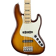 Fender American Elite Jazz Bass V, Maple Electric Bass Guitar