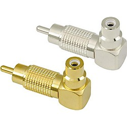 American Recorder Technologies RCA Male to RCA Female Right Angle Adapter (MR-53G)