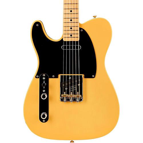 Fender American Vintage '52 Telecaster Left Handed Electric Guitar-thumbnail