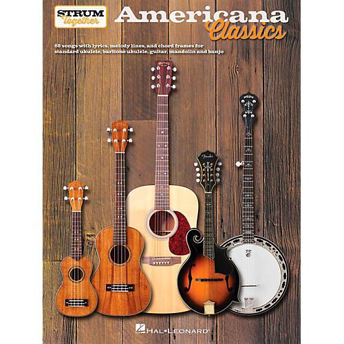 Hal Leonard Americana Classics - Strum Together-thumbnail