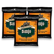 GHS Americana Light Banjo Strings (10-LW22JD-10) - 3 Pack