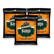 GHS Americana Medium Banjo Strings (11-LWJD-11) - 3 Pack