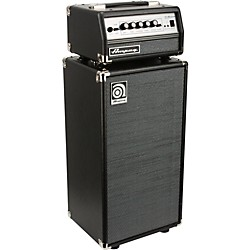 Ampeg Micro-VR Bass Amp Head and SVT210AV Bass Speaker Cabinet Stack (KIT-583101)