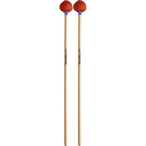 Innovative Percussion Anders Astrand Medium Vibraphone/Marimba Orange Cord Rattan Handle