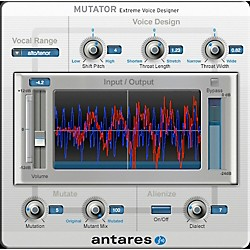 Antares Mutator EVO VSSD (VST/ AU/ RTAS) Software Download (1015-13)
