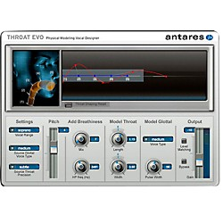 Antares Throat EVO VSSD (VST/ AU/ RTAS) Software Download (1015-6)