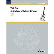 Schott Anthology of Selected Pieces (Guitar Solo) Schott Series