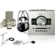 Universal Audio Apollo Twin DUO M80 Recording Bundle