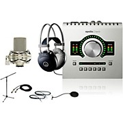 Universal Audio Apollo Twin SOLO M80 Recording Bundle