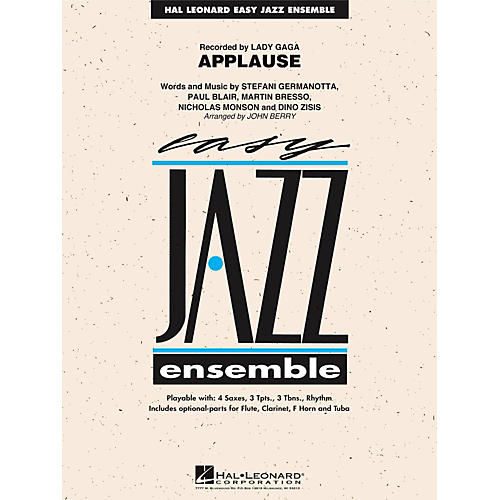 Hal Leonard Applause - Easy Jazz Ensemble Series Level 2-thumbnail