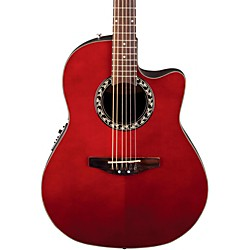 Applause Balladeer Mid Depth Bowl Acoustic-Electric Guitar (AB24-RR_142627)