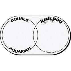 Aquarian DKP2 Double Kick Drum Pad (DKP2)