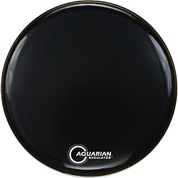 Aquarian Regulator Black Drumhead (RF-22 BLACK)