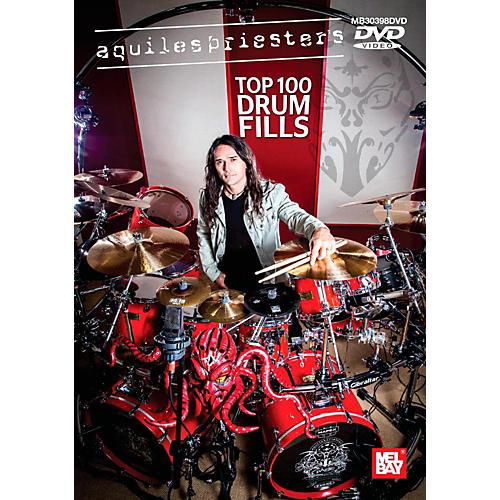 Mel Bay Aquiles Priester's Top 100 Drum Fills DVD-thumbnail