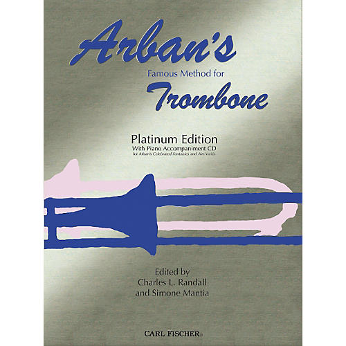 Carl Fischer Arban's Famous Method for Trombone, Platinum Edition (Book/CD)-thumbnail