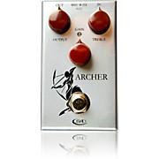 Rockett Pedals Archer Boost Overdrive Guitar Effects Pedal