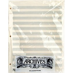 Archives Loose Leaf Manuscript Paper (LL12S)