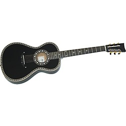 Aria 19th Century Steel-String Acoustic Guitar (AAA19C-200Sbk)