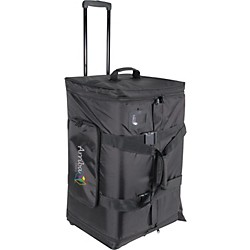 Arriba Cases AS-175 Speaker and Stand Combo Bag with Wheels (AS-175)