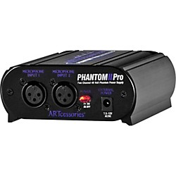 Art Phantom II Pro Phantom Power Supply (PHANTOMIIPRO)