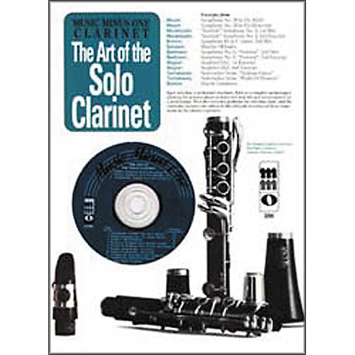 Hal Leonard Art of the Solo Clarinet: Orchestral Excerpts-thumbnail
