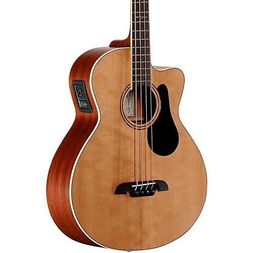 Alvarez Artist Series AB60CE Acoustic-Electric Bass Guitar Natural