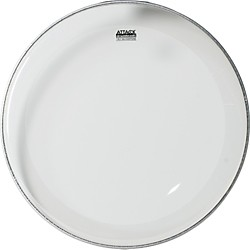 Attack 1-Ply No Overtone Clear Drumhead (DHNO22)