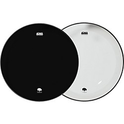 Attack Ocheltree No Overtone Bass Drumhead Pack (JODHNO20-BL20)