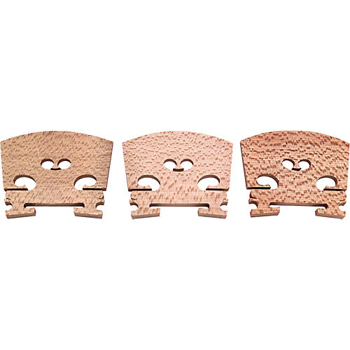 The String Centre Aubert Violin Bridges #5, Treated 1/2 Size #5, 3/4 Size
