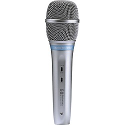 Audio-Technica AE5400 50th Anniversary Cardioid Condenser Handheld Mic (USED004000 AE5400/LE)