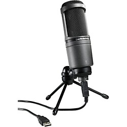 Audio-Technica AT2020USB USB Condenser Microphone (AT2020USB)