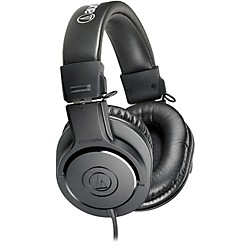 Audio-Technica ATH-M20x Closed-Back Professional Studio Monitor Headphones (ATH-M20x)