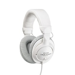 Audio-Technica ATH-M45 Studio Monitor Headphones (ATH-M45WH)
