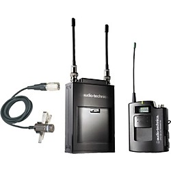 Audio-Technica ATW-1821 1800 Series Dual Channel Camera Mount UHF Wireless System (ATW-1821D)