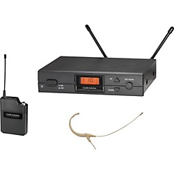 Audio-Technica ATW-2192a 2000 Series Headworn Omni Wireless System (ATW-2192aD)