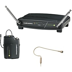 Audio-Technica ATW-901/H92-TH System 9 VHF Wireless Headset Microphone System (ATW-901/H92-TH)