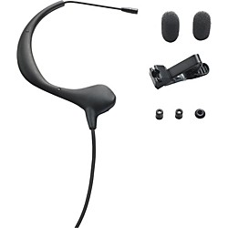 Audio-Technica BP893c MicroEarset Headset Condenser Mic for Wireless Systems (BP893cLM3-TH)