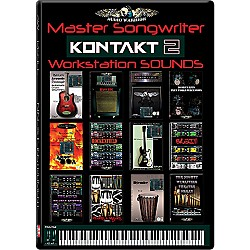 AudioWarrior Master Songwriter KONTAKT2 Sample Workstation Library (mastsongkont)