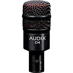 Audix D4 Dynamic Microphone (D4)